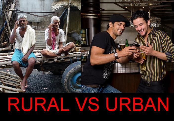 rural vs urban living essay